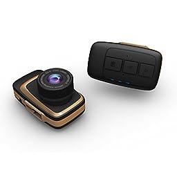 PowerLead Ircam P502 Full HD 1080P Mini Car DVR Dash Camera 140 Degree Wide Angle Lens with G-sensor Loop Recorder Motion Detection
