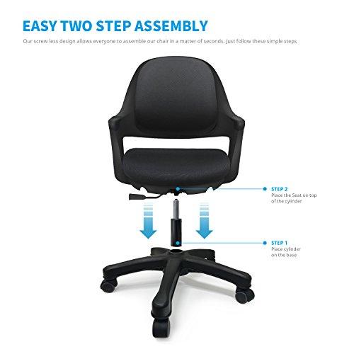 Awesome Sitrite Ergonomic Office Kids Desk Chair Easy To Assemble Customarchery Wood Chair Design Ideas Customarcherynet