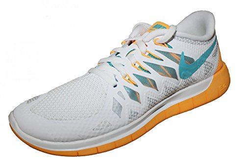 vert Donna 0 Free Nike 5 Da orange Wmns blanc Blanc Scarpe Corsa CqaPFZxT
