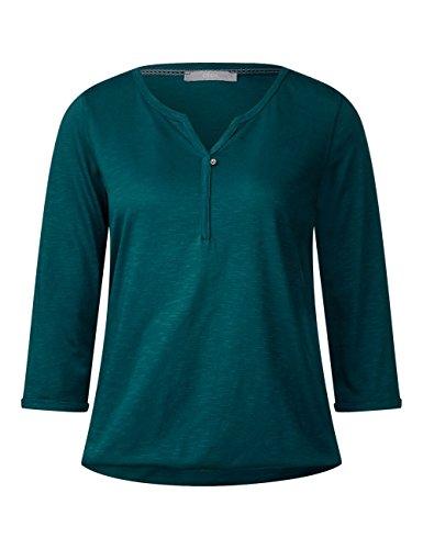 Cecil Nos Amelie, Camiseta para Mujer Grün (Emerald Green 11023)