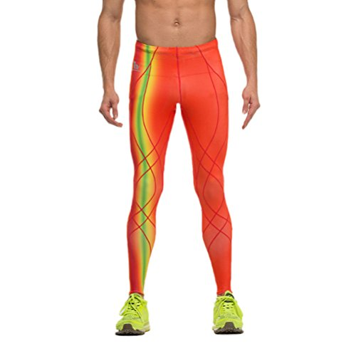 Timeiya Men's Compression Tight Base Layer pants for Sports Activities