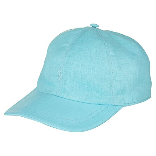 Polo Ralph Lauren Linen Sports Cap (Hammond - Ralph Polo Lauren Visor