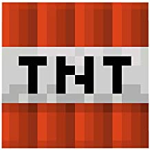 MInecraft Mojang TNT Explosive Block Graphic Super Plush Fleece Blanket Throw