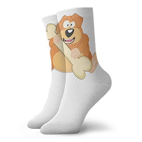 YUANSHAN Socks Puppy Eat Bone Women & Men