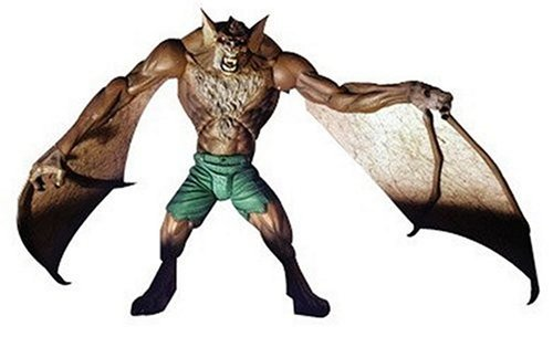 DIAMOND SELECT TOYS The Batman Secret Files Rogues Gallery Figure: Man-Bat by Diamond Select