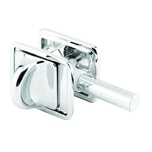 Sentry Supply 656-6797 Concealed Slide Latch, 1-3/4 in., Diecast Zamak, Chrome Plated, Fasteners, Pack of 1 ()