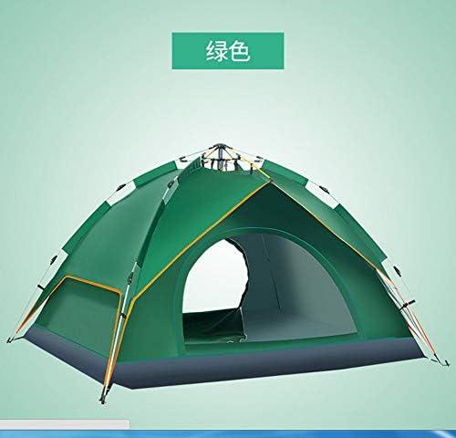 GUANGHUIO Tienda de campaña de Apertura automática para Camping al Aire Libre, Doble Tienda de campaña Impermeable para 3 – 4 Personas: Amazon.es: Deportes y aire libre