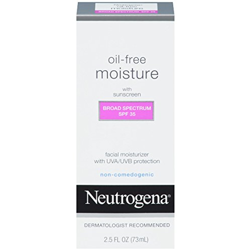 Neutrogena Oil Free Moisture Spf 35 2.5 Oz, Pack of 6
