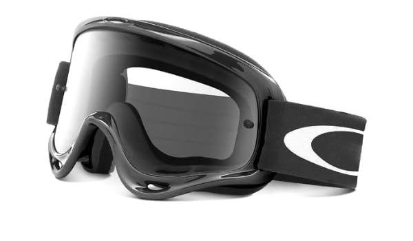f34c20436c Oakley O-Frame MX Goggles with Clear Lens (Black)  Amazon.ca  Automotive