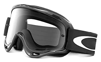 oakley o frame mx goggles with clear lens black
