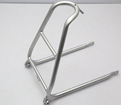 For BROMPTON Rear Rack Mini Luggage Shelf Lightweight BLACK