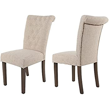 amazon com porter side chair set of 2 d697 01 chairs