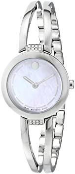 Movado Diamond Stainless Steel Women's Watch