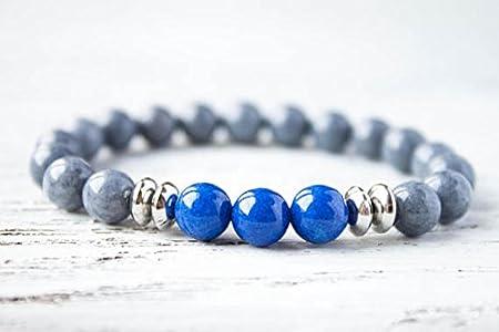 Friendship Bracelet Gray Blue Gay Bracelet BFF Bracelet ...