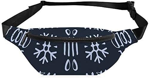 青いクリスマス冬休みに赤ちゃんそれは冷たい外青 ウエストバッグ ショルダーバッグチェストバッグ ヒップバッグ 多機能 防水 軽量 スポーツアウトドアクロスボディバッグユニセックスピクニック小旅行