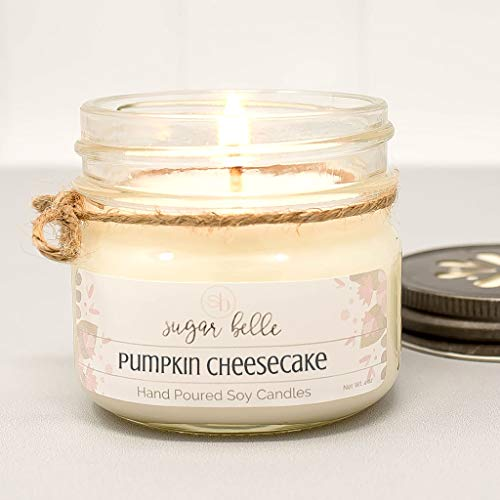 (Pumpkin Cheesecake Scented 4 oz Soy Candle)