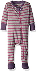Burt's Bees Baby - Baby Girls Sleeper Pa...