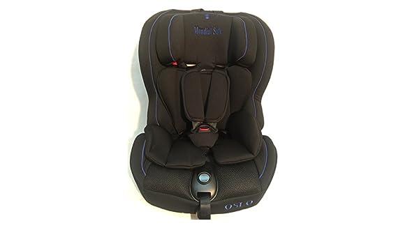 Mondial Safe Oslo Isofix - Silla de coche grupo 1 2 3, unisex, color negro y azul: Amazon.es: Bebé