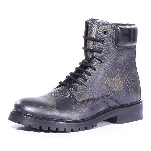 Hugo Boss Men Explore_halb_grprcm Boots Shoes Dark Green (12 D US) (Hugo Boss Shoes Boots)