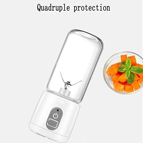 LAMTON Portátil Exprimidor de Fruta Mini hogar exprimidor eléctrico de Carga Estudiante for Zumo recién exprimido, puré, 400ml