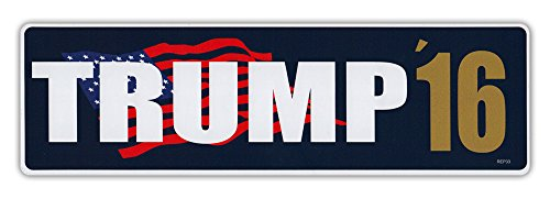 Bumper-Stickers-Decals-Donald-Trump-For-President-2016-Republican-GOP-Conservative-United-States-President-10-x-3-Sticker