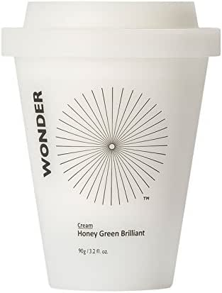 Haruharu WONDER Honey Green Brilliant Cream 90g (3.2 fl.oz.) Brightening & Skin Glowing