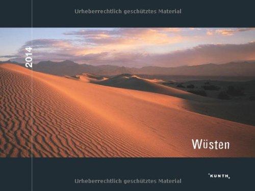 KUNTH Kalender Wüsten 2014