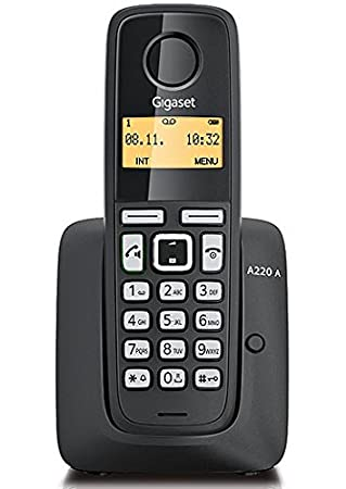 Gigaset Cordless Phone A220A Single - Black