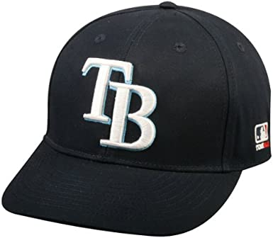 2013 Adult FLAT BRIM Tampa Bay Rays Home Navy Blue Hat Cap MLB Adjustable