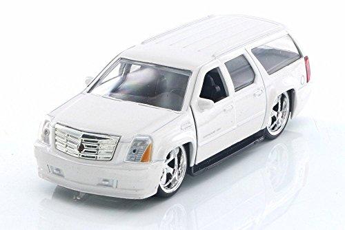 2007 Cadillac Escalade, White - Jada 91393 - 1/32 Scale Diecast Model Toy Car but NO BOX