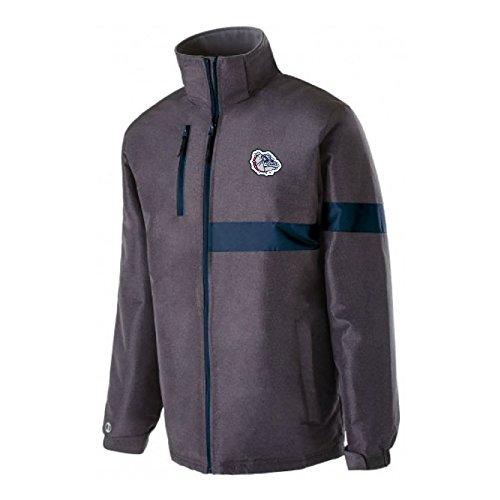 Ouray Sportswear NCAA Gonzaga Bulldogs Raider Jacket, Large, Carbon Print/Navy ()