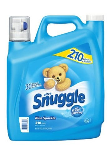(Snuggle Plus Super Fresh Fabric Softener Dryer Sheets with Static Control and Odor Eliminating Technology, 105 Count (Fabric Softener 210)