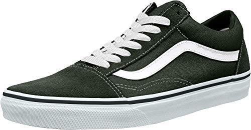 Vans Mens Old Skool Skate Shoe (9 D(M) US, Black/True White) (Best Vans Shoes For Skateboarding)