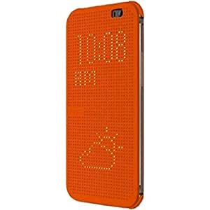 Amazon.com: HTC HC M100 Dot View Flip Case for HTC One (M8 ...