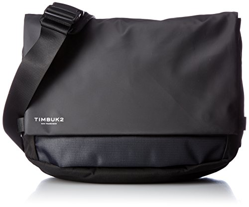 Timbuk2 Stark Messenger Bag, Jet Black, One Size