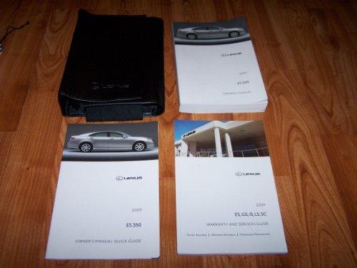 Es Owners Manual (2009 Lexus ES350 ES 350 Owners Manual)