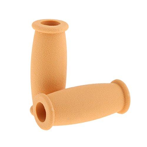 Crutch Hand Grip Cover Crutches Handle Replacement Covers - Yellow (Replacement Crutch Hand Grips)
