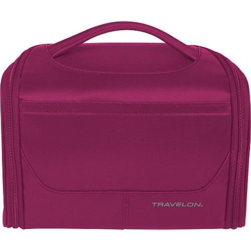 Travelon Weekend Edition Independence Bag - Berry Toiletry Kit NEW by - Independence Mall