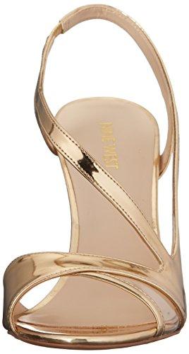 Nine Delvin Kulta West Kallistuneen Multi Synteettisen Naisten Sandaali rT4qr