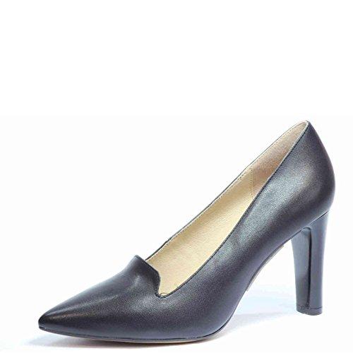 Caprice 24401-022 - Zapatos de vestir de Piel Lisa para mujer negro