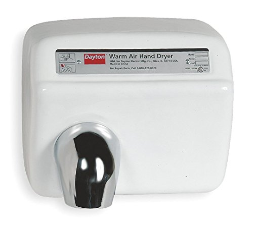 Dayton 6H009 Hand Dryer, 115 V, 20 A by Dayton
