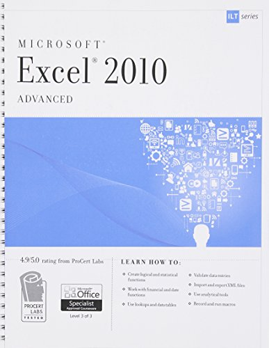 Excel 2010: Advanced (Ilt)