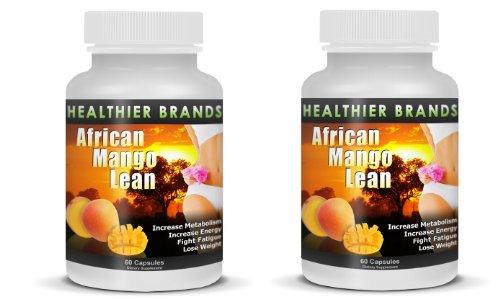 Marques sains (2 Combo de bouteille) Lean mangue africaine | Free sains Extreme Weight Loss Secrets eBook | Top Selling Fat éclatant supplément de mangue africaine