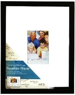 mcs signature 11x14 inch autograph frame