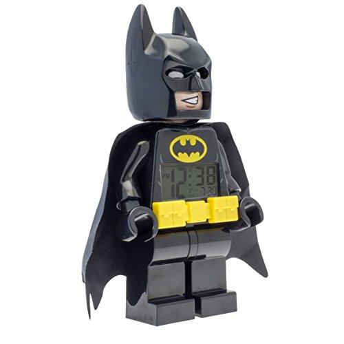 -[ DC Comics Lego Batman Movie Batman Kids Minifigure Alarm Clock Official  ]-