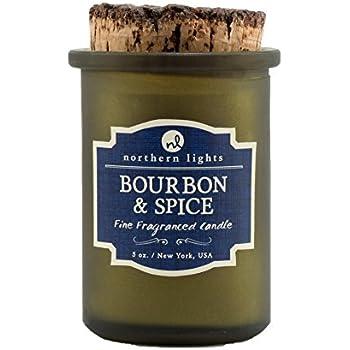 Northern Lights Candles Spirit Jar Candle, 5 oz, Bourbon and Spice