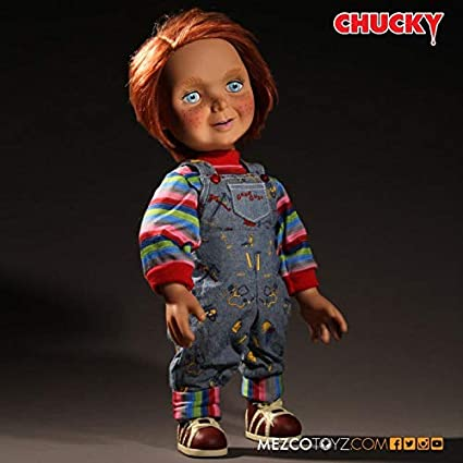 Chucky- Good Guys Peluche,, 38 cm (Mezco Toyz MEZMEZ78004)