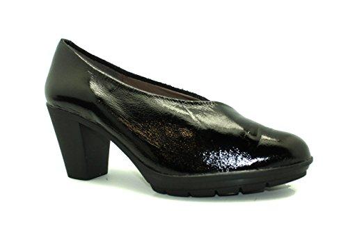 zapato de tacón de mujer - Maria Jaen modelo 1588N Negro