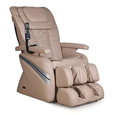 Osaki OS-1000 Premium Massage Chair - Comfortable Leather Recliner Seating - Amazing Professional Therapy for the Full Body - 5 Preset Programs - 3 Color Options