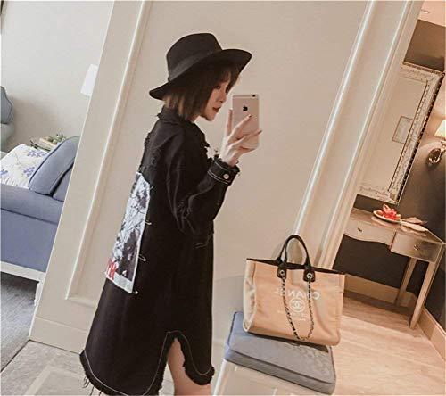 Femme Mode Jean Longues Vintage D Vestes Ix55qnpw